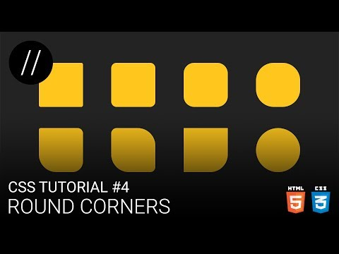 CSS Tutorial #4 — Round Corners [UP/TO/DATE] thumbnail