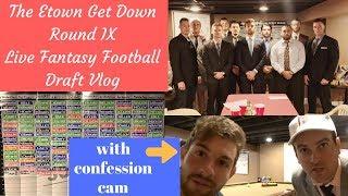 Etown Get Down Round IX Live 2017 Fantasy Football Draft
