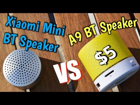 SPEAKER BATTLE | Xiaomi Mi Bluetooth Speaker VS A9 Mini Bluetooth Speaker