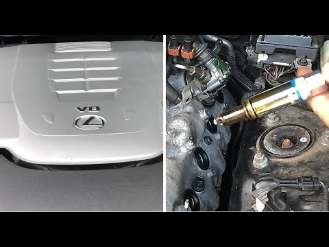 FnF51 – Car 017 – Spark Plug Replacement – Lexus LS460