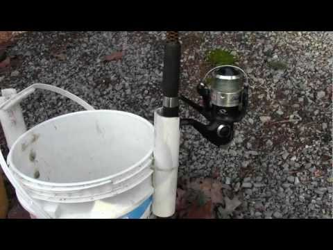 How To Make A Rod Holder Bucket