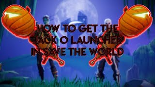 Fortnite [STW] How to get the Jack O Launcher Schematic/Kürbiswerfer Skizze