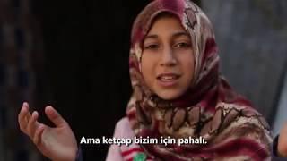 Mülteci Youtuber olur mu? Suriyeli minik Youtuber Hatice'den yemek tarifi