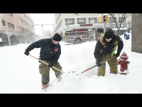 Snow, Cold Temperatures And Wind Spread Across The Central New York