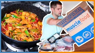 Muscle Food Unboxing AND Sweet & Sour Chicken Recipe - Warren Nash