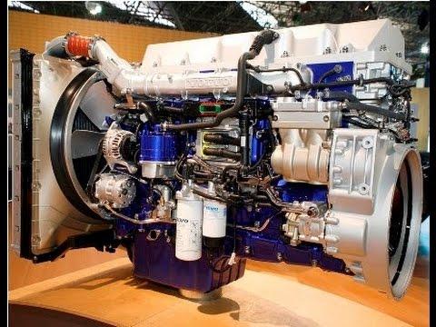 Motor Volvo D13 (FH 420, FH460, FH500, FH540) - YouTube