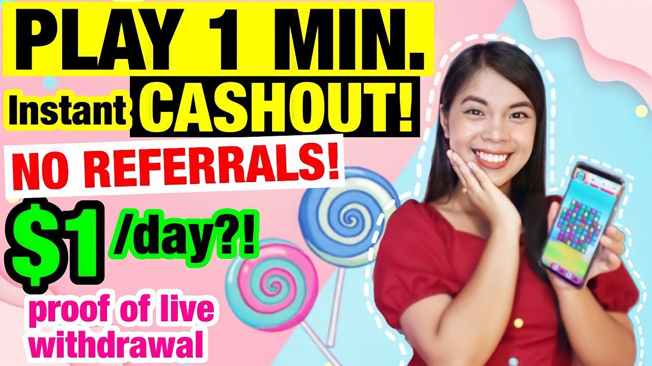 I SWEAR, NO INVITE! NEW LEGIT APP   PLAY 1 MIN. then CASHOUT! $1 [P50] A DAY!? with LIVE WITHDRAWAL