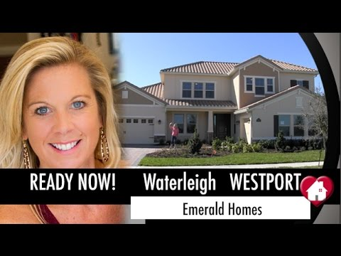New Homes Winter Garden Florida Westport Inventory at Waterleigh by Emerald Homes