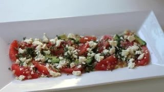 Grapefruit, Avocado & Feta Salad Recipe : Salad Recipes