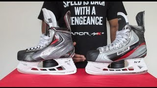bauer vapor apx skates vs apx2 ice hockey skates review apx compared to apx 2 detailed comparison