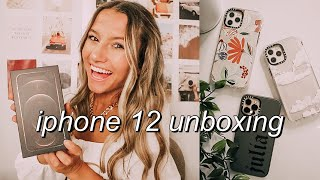 *NEW* iPHONE 12 PRO UNBOXING | set up, accessories, + more!