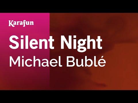 Karaoke Silent Night - Michael Bublé *