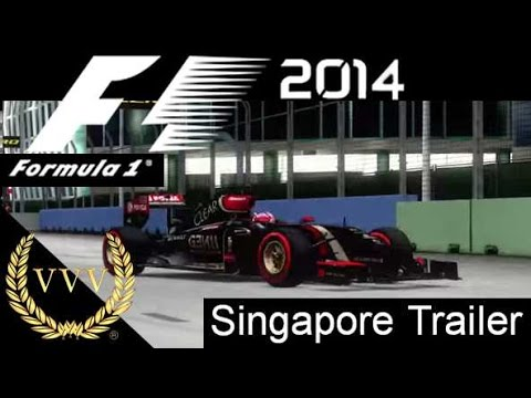 F1 2014 - Singapore Hot Lap Gameplay Trailer