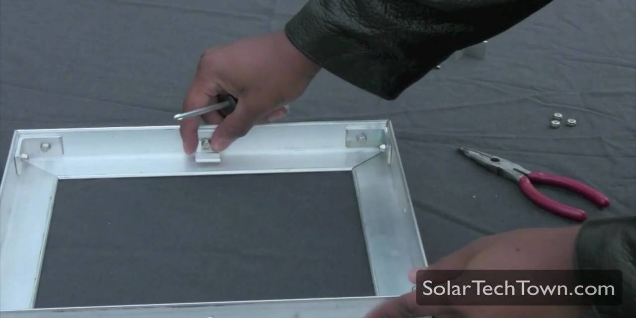 How To Build An Aluminum Frame Solar Panel Part 3 3