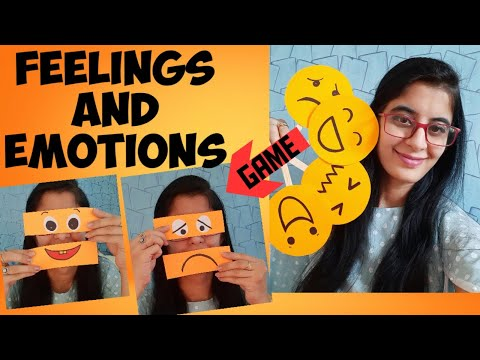 Teach Emotions and Feelings to kids | How to teach Emotions with fun activity for preschool