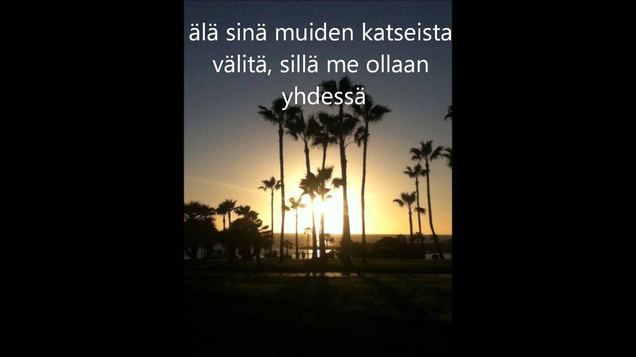 Jenni Vartiainen ihmisten edessä lyrics - YouTube