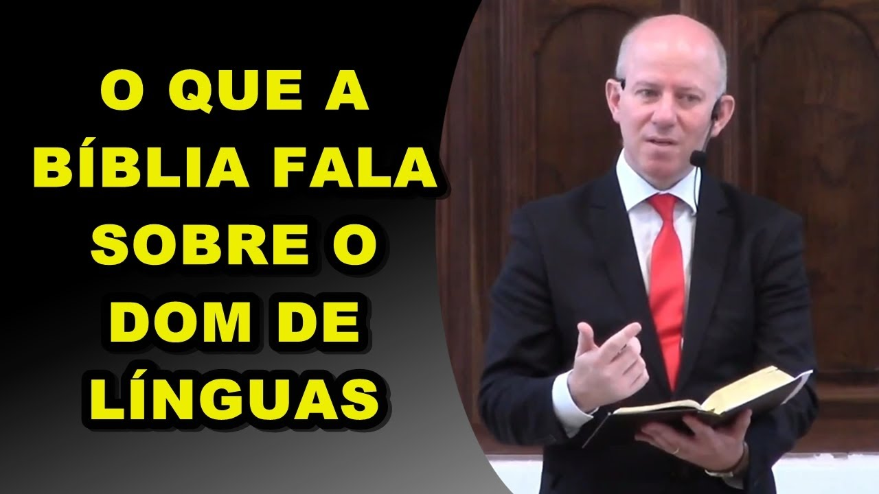 Rev Ageu Magalhaes | Dom de Línguas Estudo Completo