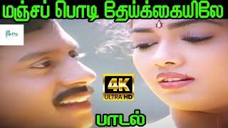 Manja Podi Theikkaiyile ||மஞ்ச பொடி தேய்க்கையிலே || Mano ||Love Melody H D Song