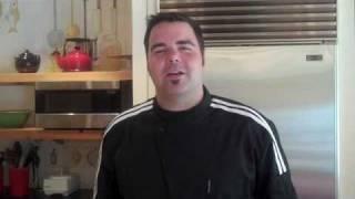 George Duran Prepares Strawberry Apple Sangria At Lake Austin Spa Resort