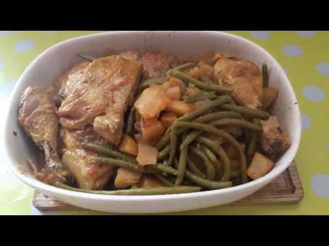 💖-tajine-de-poulet-haricots-verts-pommes-de-terre-💖