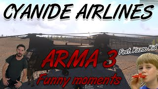 zf cyanide airlines   arma 3 funny moments