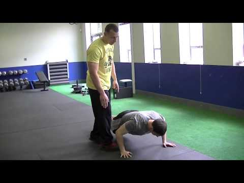 Best Gym In Springfield New Jersey |  How To Do A Push up | Strength Training
