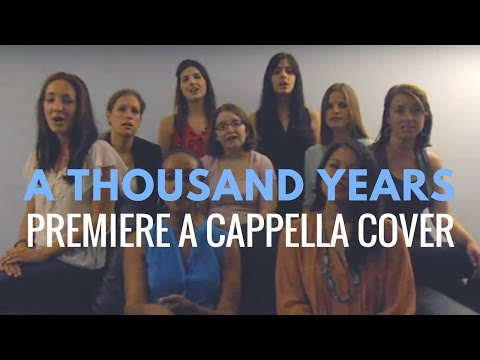 A Thousand Years - Christina Perri (Cover by Premiere A Cappella)