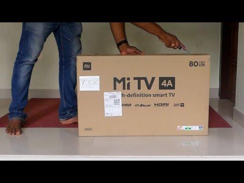 Xiaomi Mi LED Smart TV 4A 32 Inch Unboxing