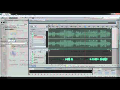 Hướng dẫn mix nhạc với adobe audition CS5 - Part 1/3