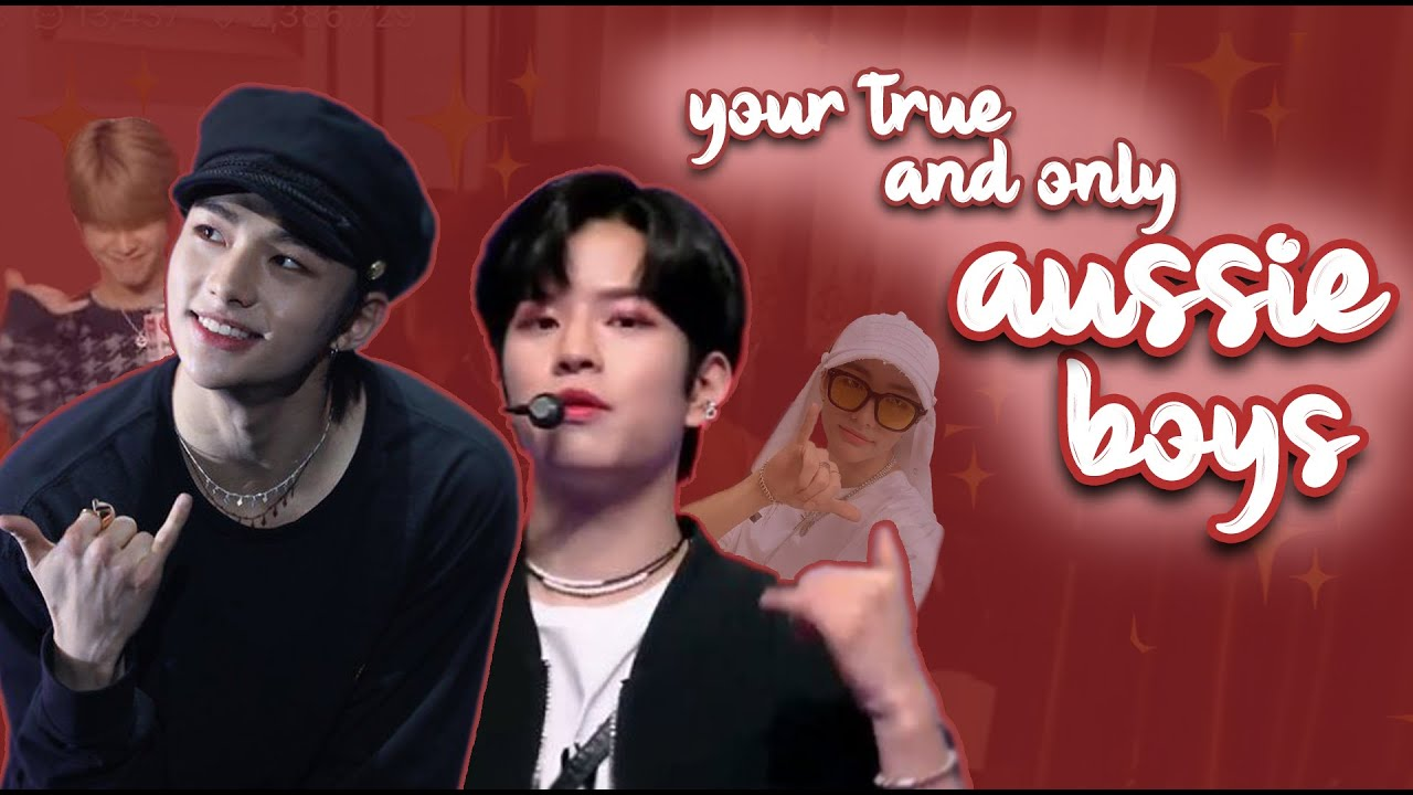 seungmin and hyunjin are only true aussies in stray kids