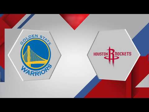 Golden State Warriors vs. Houston Rockets - January 20, 2018