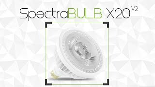 SpectraBULB X20 - Produktový list GreenVisuaLED