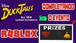 ROBLOX: Completing the Ducktales event Part 3 (Uncle Scrooge)