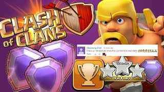 Clash of clans Bowler Attack strategy | Legend Trophy Push
