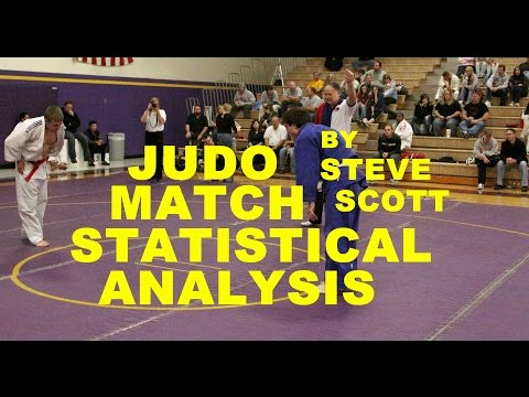 Judo Match Statistics and Technical Analysis