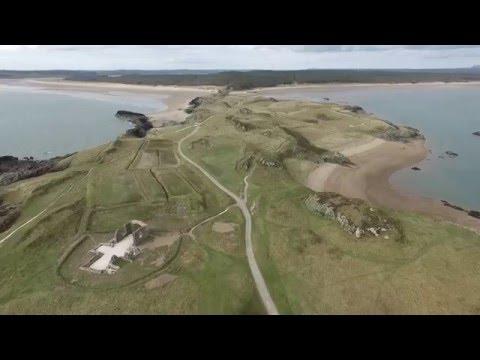 Llanwddyn Island.