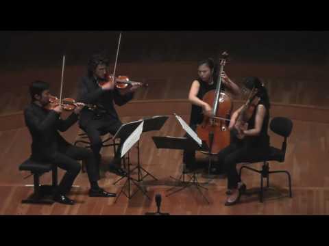 QUATUOR BERLIN TOKYO - finale HD Concours international de Quatuors à Cordes de Bordeaux 2016