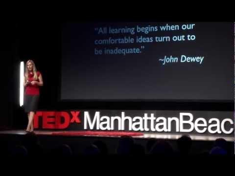 Learn like a kid: Lainie Rowell at TEDxManhattanBeach