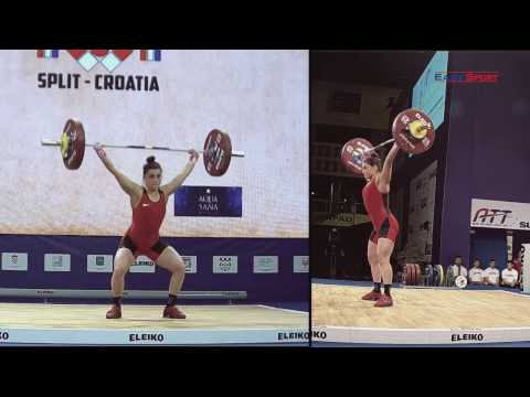 European Weightlifting Championships 2017 Women Senior 63 kg B