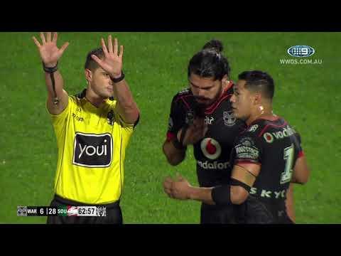 NRL Highlights: Warriors v South Sydney Rabbitohs: Round 12