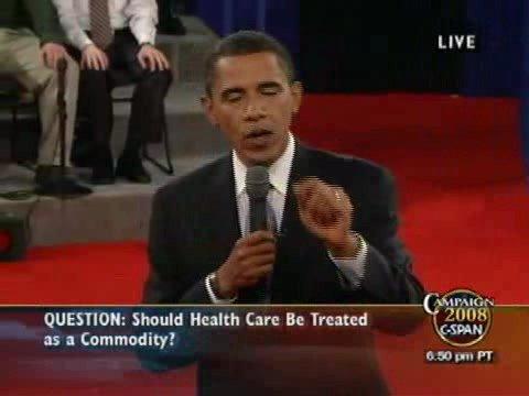 C-SPAN: Second 2008 Presidential Debate (Full Video)