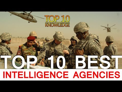 Top 10 Best Intelligence Agencies in the World 2018
