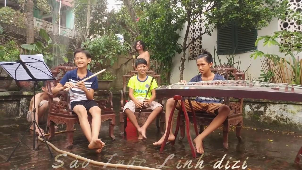 Download EM GÁI MƯA || Cover Linh Dizi || Mua Sáo: 038.932.7879