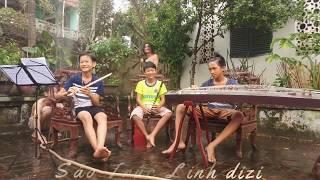 EM GÁI MƯA    Cover Linh Dizi    Mua Sáo: 0168.932.7879