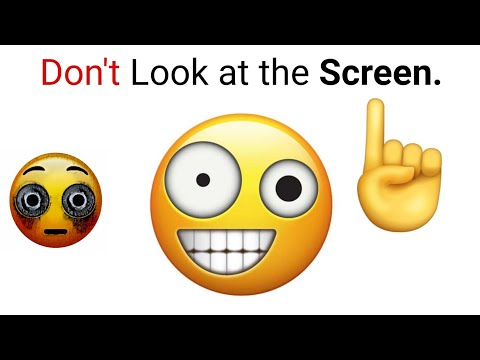 Don't Look at Screen while watching this video