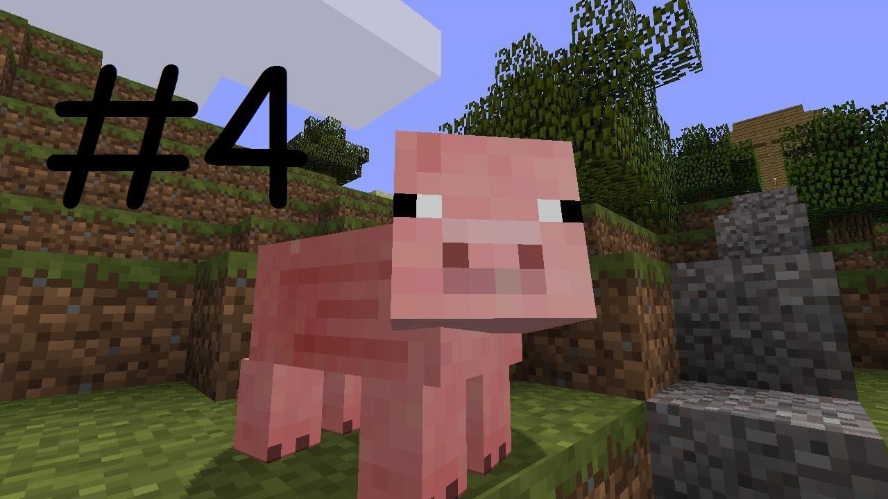 Свинья в майнкрафте картинка