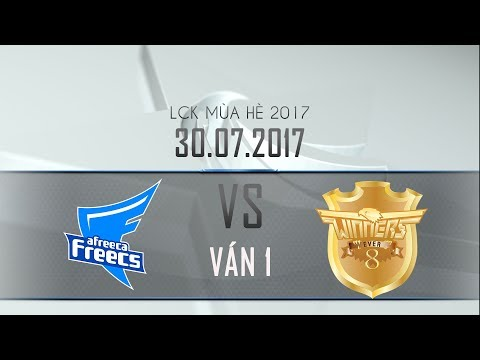 [30.07.2017] Afreeca vs Ever 8 [LCK Hè 2017][Ván 1]