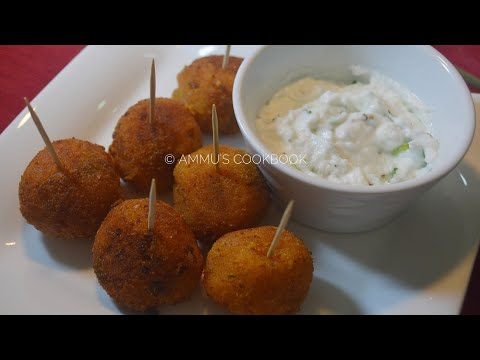 പൊട്ടറ്റോ ലോലിപോപ് /Potato Lollipop Recipe / Recipe No: 81