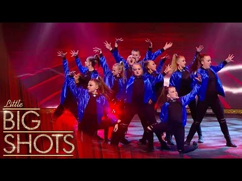 Street Dance Crew Entourage Show Off Their Attitude | Little Big Shots