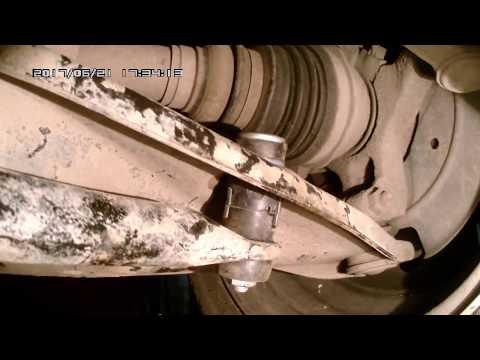 Стук в передней подвеске рено логан